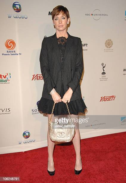 Julianne Nicholson during The 34th International Emmy Awards Gala Arrivals November 20 2006 at The New York Hilton in New York City New York United...