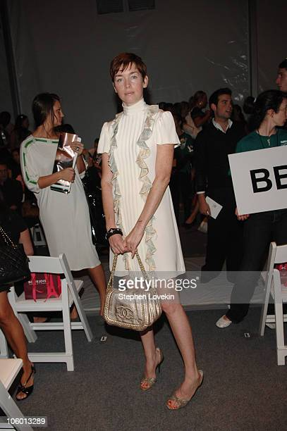 Julianne Nicholson from Law and Order during Olympus Fashion Week Spring 2007 Alice Roi Front Row and Backstage at The Atelier in New York City New...