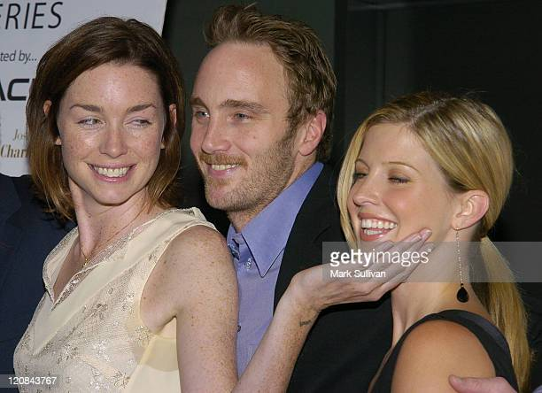 Julianne Nicholson Jay Mohr and Jill Ritchie during Seeing Other People a Gen Art Premiere at Writers Guild Theatre in Beverly Hills California...