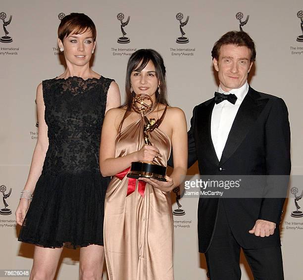 Julianne Nicholson Maryam Hassouni and Thierry Fremont