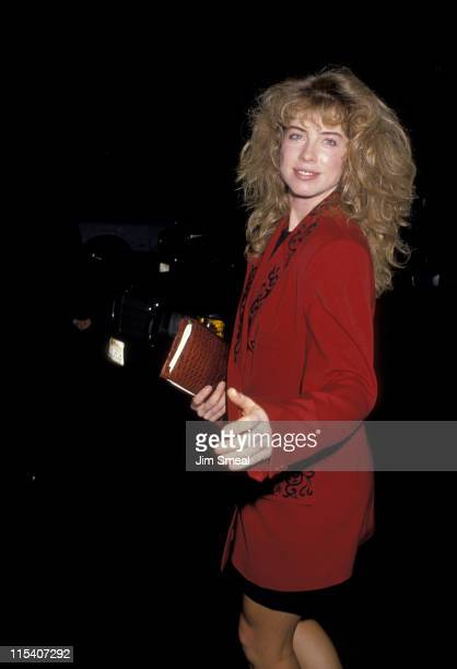 Julianne Phillips during Julianne Phillips Sighting at Spago's Restaurant in Hollywood October 15 1988 at Spago's Restaurant in Hollywood California...