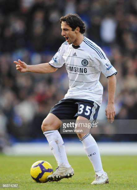 Juliano Belletti of Chelsea in action during the Barclays Premier League match between Birmingham City and Chelsea at St Andrew's Stadium on December...