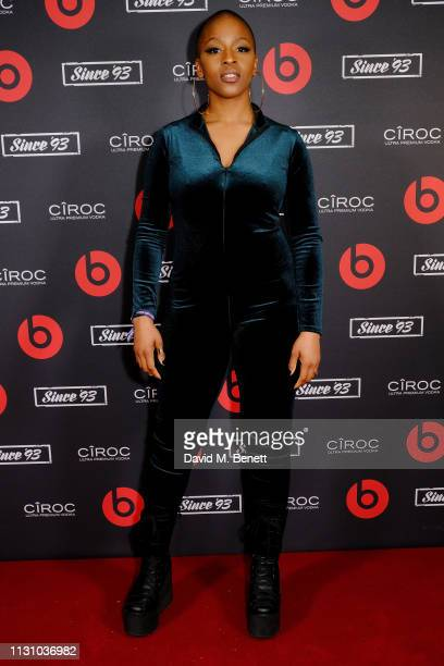 Julie Adenuga attends Beats by Dr Dre Brits After Party on February 20 2019 in London England