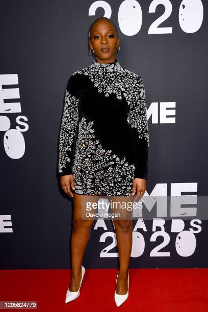 Julie Adenuga attends the NME Awards 2020 at O2 Academy Brixton on February 12 2020 in London England