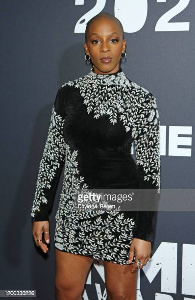 Julie Adenuga attends The NME Awards 2020 at the O2 Academy Brixton on February 12 2020 in London England