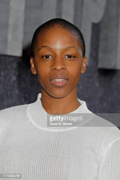 Julie Adenuga attends the UK Premiere of Top Boy at the Hackney Picturehouse on September 04 2019 in London England