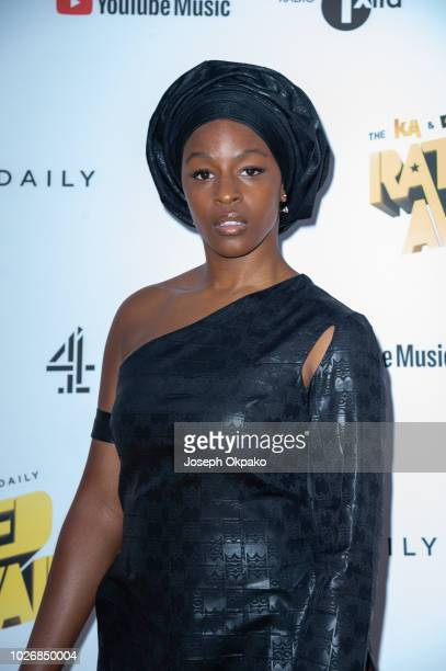 Julie Adenuga attends UK Grime and Hip Hop event the KA GRM Daily RATED AWARDS 2018 at Eventim Apollo on September 4 2018 in London England