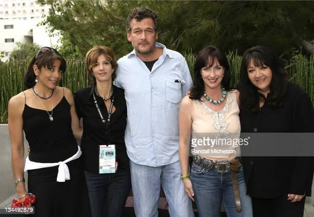 Julie Anderson, director, Tani Cohen, producer, Joseph Vitarelli, composer, CC Goldwater, producer, Doreen Ringer-Ross, BMI.