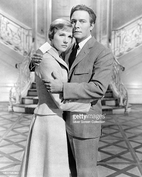 Julie Andrews and Christopher Plummer in a promotional portrait for 'The Sound Of Music' directed by Robert Wise 1965