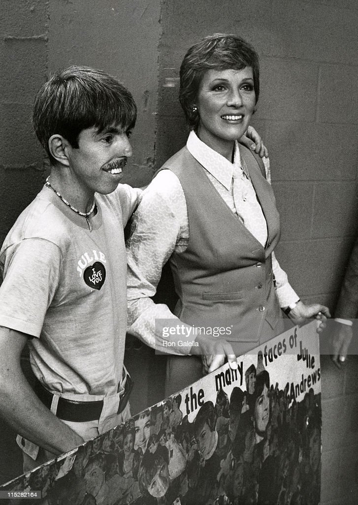 Julie Andrews and fan