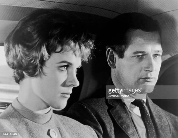Julie Andrews and Paul Newman star in the thriller 'Torn Curtain' directed by Alfred Hitchcock for Universal 1966