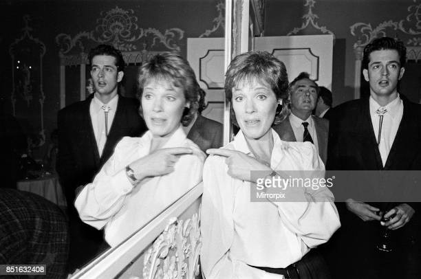 Julie Andrews and Rupert Everett who star in the new film 'Duet for One' 9th February 1986