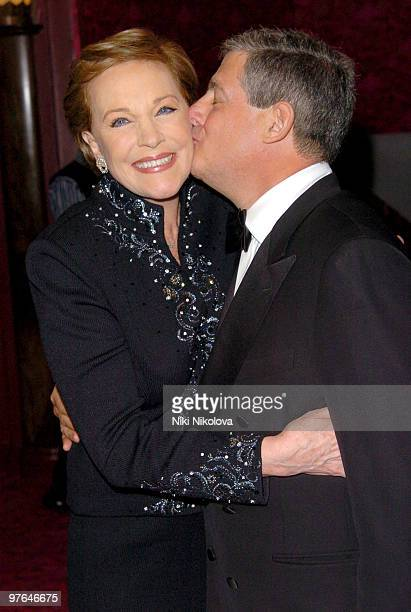 Julie Andrews and Sir Cameron Mackintosh