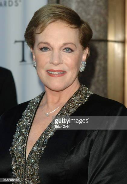 Julie Andrews arrives to the 60th Annual Tony Awards held at Radio City Music Hall New York City BRIAN ZAK