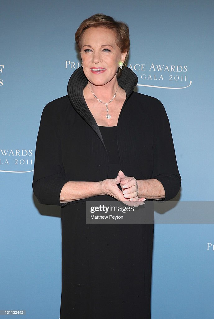 Julie Andrews attends Princess Grace Awards Gala at Cipriani 42nd Street on November 1, 2011 in New York City.