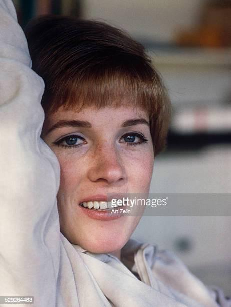 Julie Andrews closeup circa 1970 New York