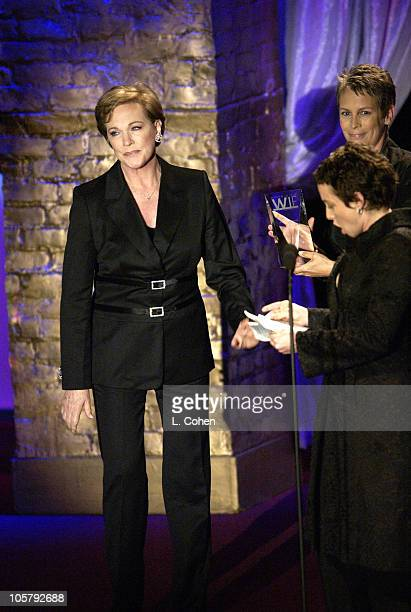 Julie Andrews during 2003 Women In Film Crystal Lucy Awards Show at Century Plaza Hotel in Los Angeles California United States