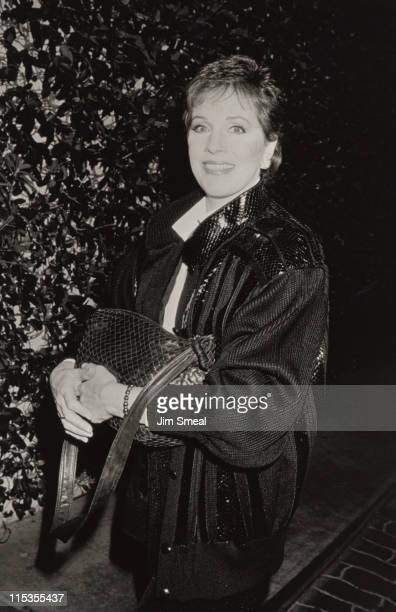 Julie Andrews during AFI Salute to Jack Lemmon and Pre-Party at Jimmy's Restaurant in Beverly Hills, California, United States.