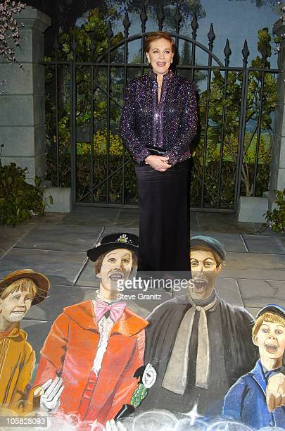 Julie Andrews during 'Mary Poppins' 40th Anniversary and Launch of Special Edition DVD Arrivals at El Capitan Theatre in Hollywood California United...