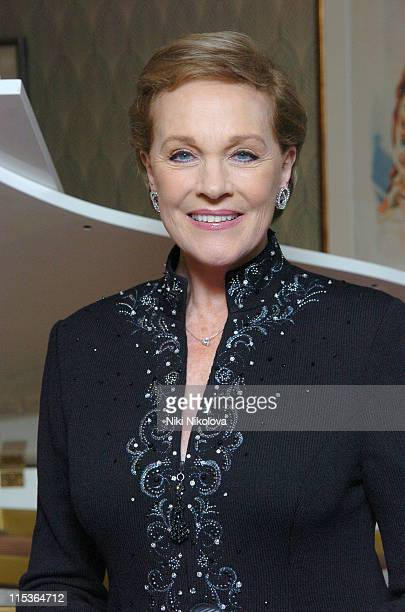 Julie Andrews during 'Mary Poppins' Gala Evening After Party at Prince of Wales Theatre in London Great Britain