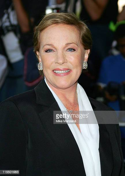 Julie Andrews during 'Shrek 2' Charity Premiere in Aid of Makeitbig at UCI Empire Leicester Square in London Great Britain