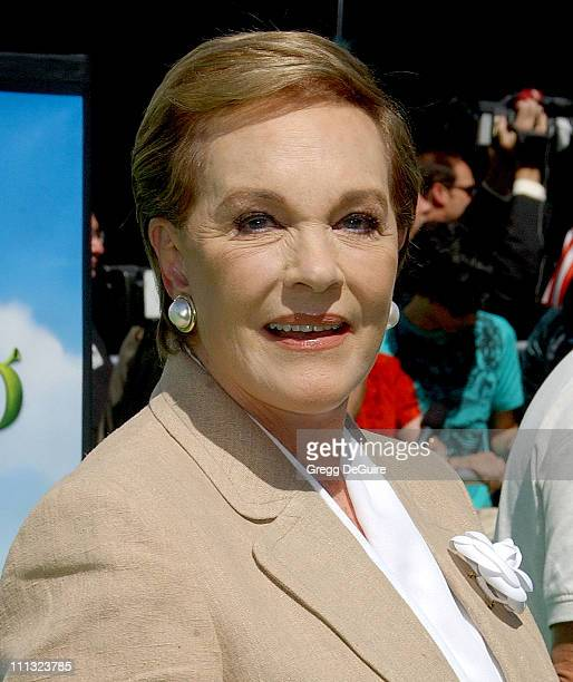 Julie Andrews during Shrek the Third Los Angeles Premiere Arrivals at Mann Village Theatre in Westwood California United States