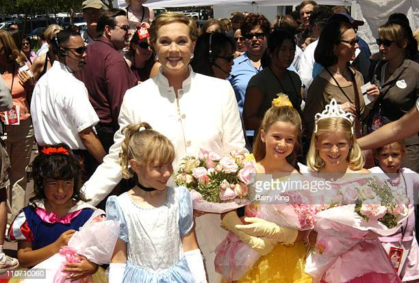 Julie Andrews during 'The Princess Diaries 2 Royal Engagement' World Premiere Arrivals at AMC Downtown Disney in Anaheim California United States