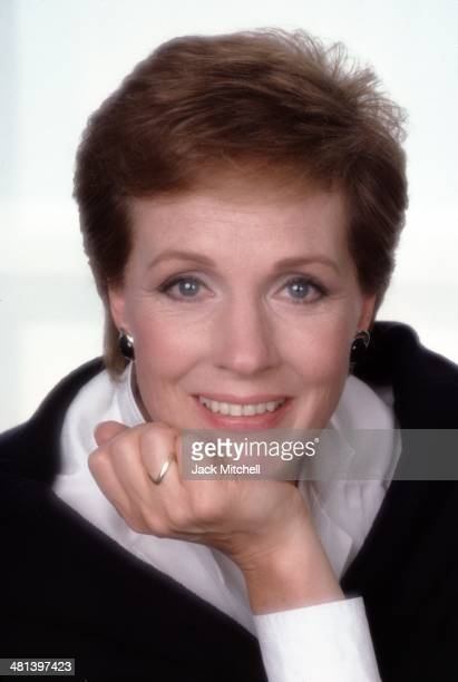 Julie Andrews in 1986 the year she starred in her husband director Blake Edwards' 'That's Life'