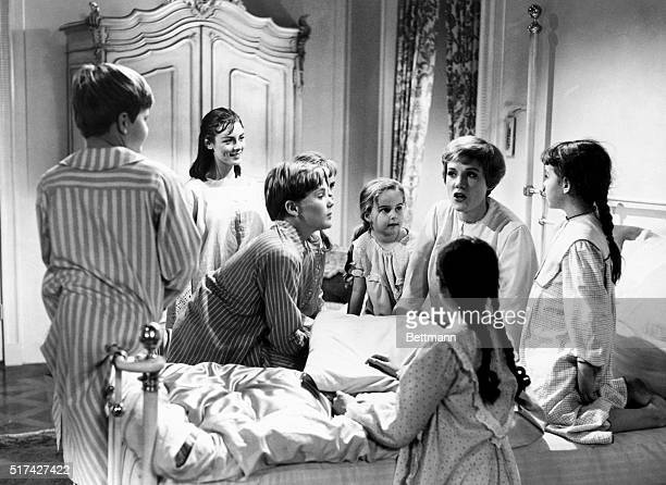 Julie Andrews played Maria a governess to the von Trapp children