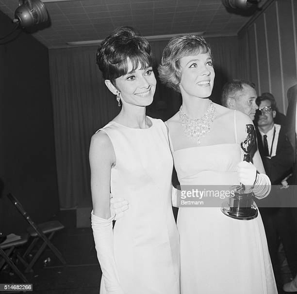 Julie Andrews was passed over in favor of Audrey Hepburn for the role of Eliza Dolittle in My Fair Lady which she originated on stage This freed her...