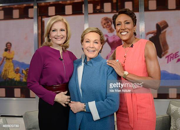 AMERICA Julie Andrews who is celebrating a milestone with the 50th Anniversary of her film 'The Sound of Music' appears on GOOD MORNING AMERICA...