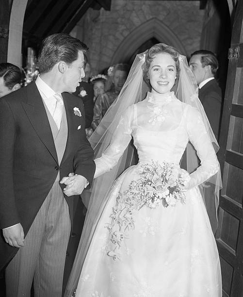 Julie Andrews And Tony Walton Wedding