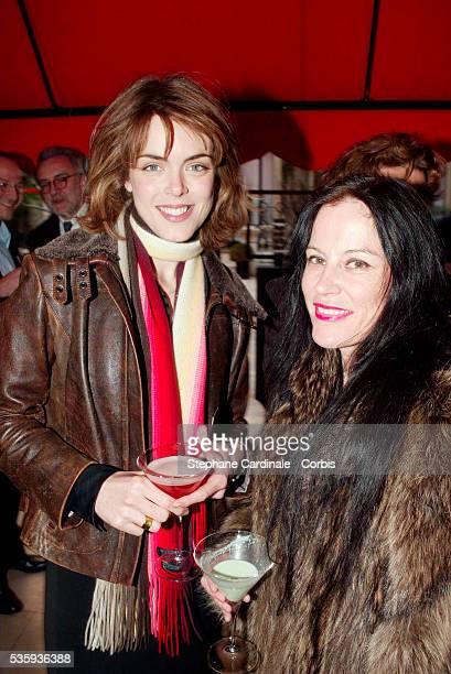 Julie Andrieu and Irene Frain
