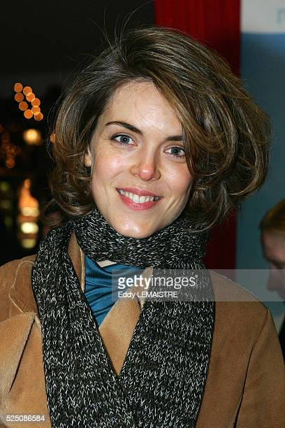 Julie Andrieu attends the premiere of Et si C'Etait Vrai in Paris