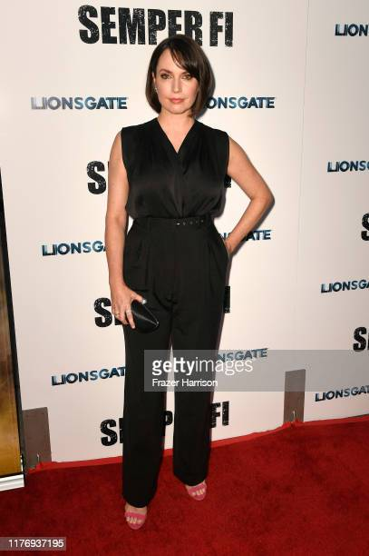 Julie Ann Emery attends a Special Screening Of Lionsgate's Semper Fi at ArcLight Hollywood on September 24 2019 in Hollywood California