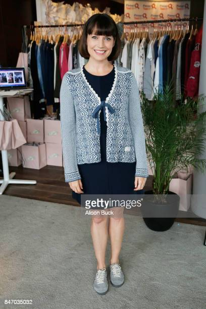 Julie Ann Emery attends Kari Feinstein's Style Lounge presented by Ocean Spray at the Andaz Hotel on September 14 2017 in Los Angeles California