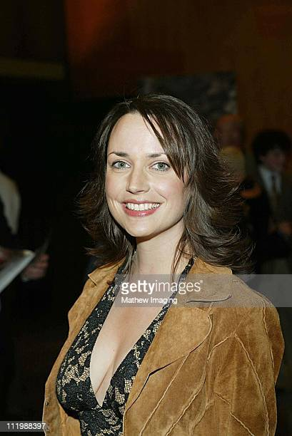 Julie Ann Emery during Steven Spielberg Presents Taken Premiere at Writers Guild of America Theatre in Beverly Hills CA United States
