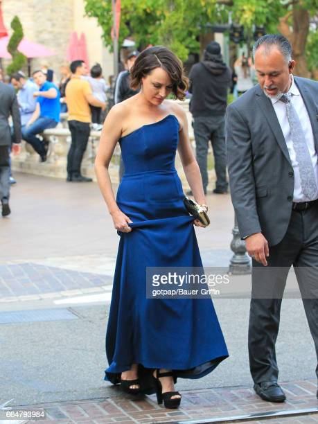 Julie Ann Emery is seen on April 04 2017 in Los Angeles California