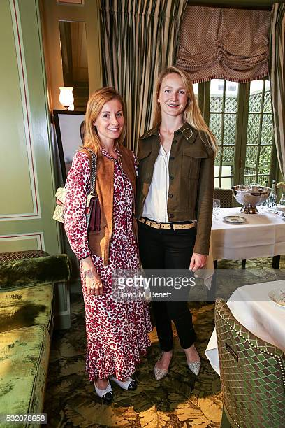 Julie AnneDorff and Rosie Ruck Keene attend TROY London founders host VIP breakfast to celebrate their Summer Collection and Preview Winter...