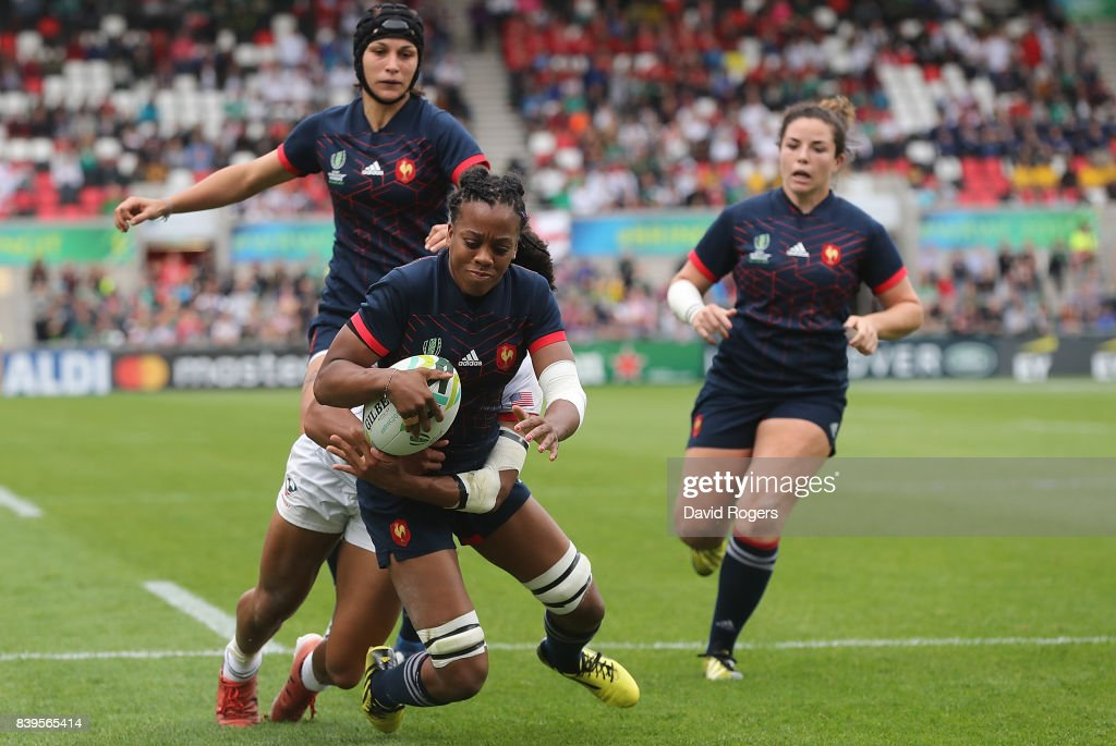 France v USA - Women's Rugby World Cup 2017 Third Place Match : Photo d'actualité
