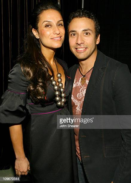 Julie B and Howie Dorough during Juliebcom Hosts Party in Celebration of the Musical Wicked Featuring a Special Performance by Dita Von Teese at...