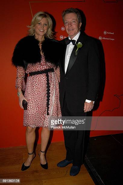 Julie Behr and Alan Behr attend The Director's Council of the Museum of the City of New York Winter Ball Sponsored by Yves Saint Laurent at Museum of...
