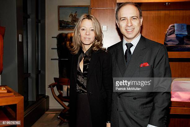 Julie Behr and Alan Behr attend THE HERMES FOUNDATION Hosts Exclusive Exhibition Preview of 'Pannonica de Koenigswarter Jazz Musicians and Their...