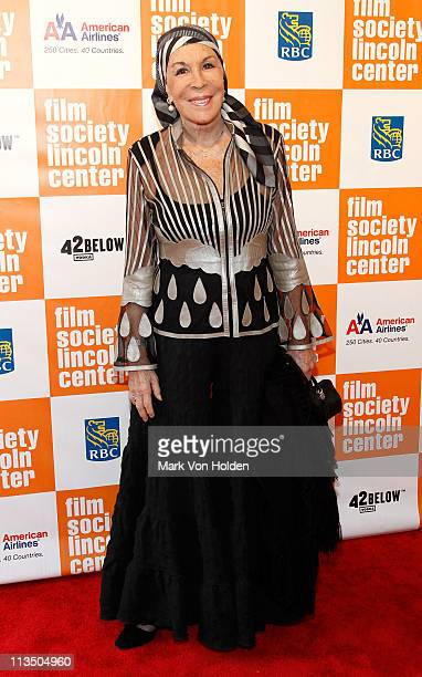 Julie Belafonte attends The Film Society of Lincoln Center's presentation of the 38th Annual Chaplin Award at Alice Tully Hall on May 2 2011 in New...