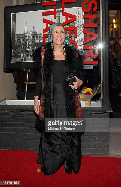 Julie Belafonte attends the opening night reception of Shari Belafonte's ITALY exhibit at the Chair and The Maiden on October 7 2010 in New York City