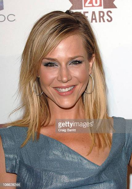 Julie Benz arrives at E! Entertainment's 20th Birthday Celebration at The London Hotel on May 24, 2010 in West Hollywood, California.