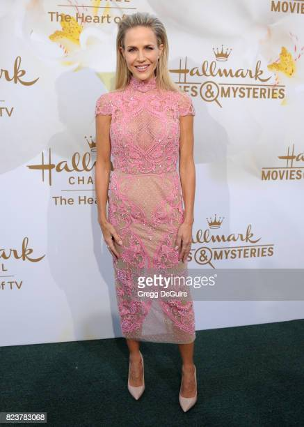 Julie Benz arrives at the 2017 Summer TCA Tour Hallmark Channel And Hallmark Movies And Mysteries at a private residence on July 27 2017 in Beverly...