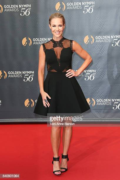 Julie Benz arrives at the 56th Monte Carlo TV Festival Closing Ceremony and Golden Nymph Award at The Grimaldi Forum on June 16 2016 in MonteCarlo...