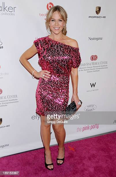 Julie Benz arrives at the 6th Annual Pink Party at Drai's at the W Hollywood Hotel on September 25 2010 in Hollywood CA