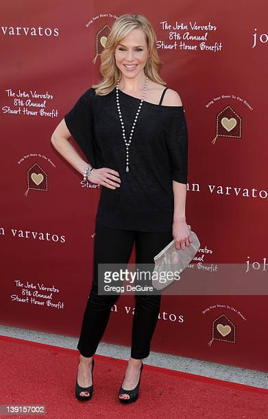 Julie Benz arrives at The John Varvatos 8th Annual Stuart House Benefit at the John Varvatos Boutique on March 13 2011 in West Hollywood California